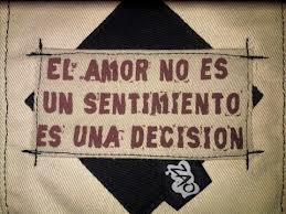 el amor no es un sentimiento